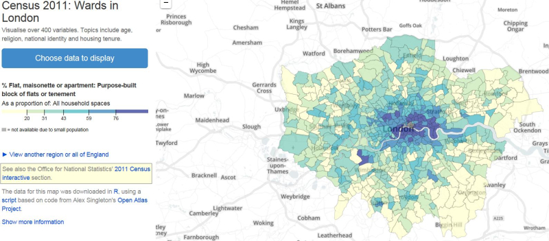 Census 2011-Wards in London